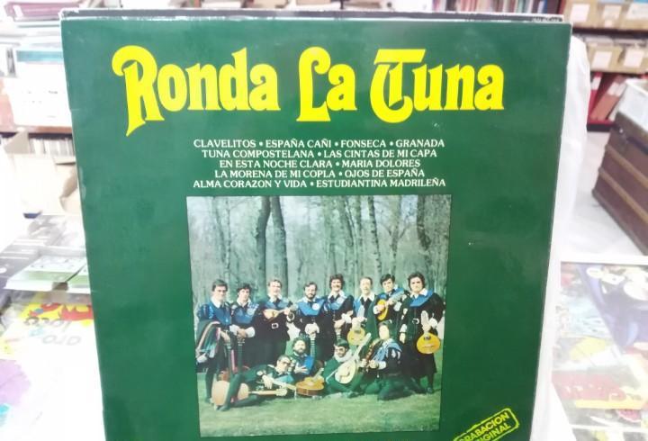 Ronda la tuna - tuna universitaria de madrid - lp. sello
