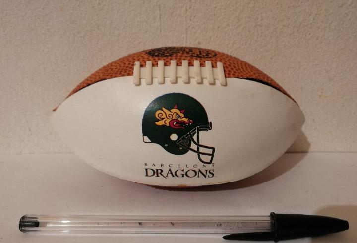 Balon decorativo - barcelona dragons - cajon - rugby - año