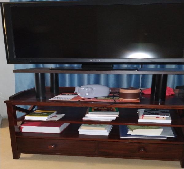 Mueble televisión madera maciza