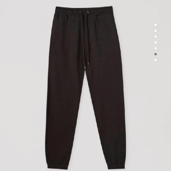 Pantalón jogger negro
