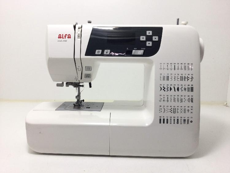 Maquina coser alfa 2160