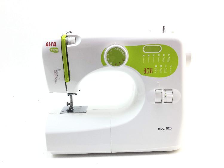 Maquina coser alfa 520