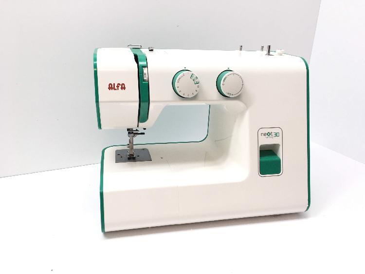 Maquina coser alfa next 30