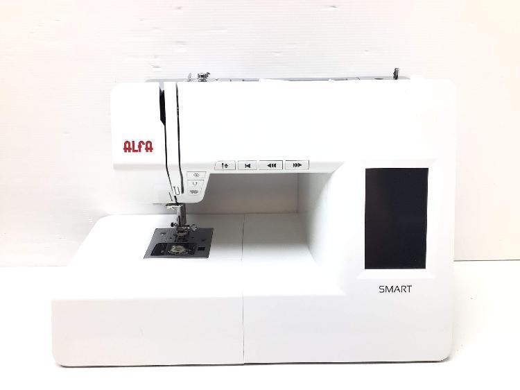 Maquina coser alfa smart