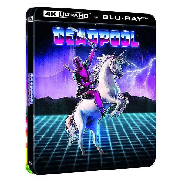 Deadpool - steelbook lenticular (4k uhd + blu-ray)