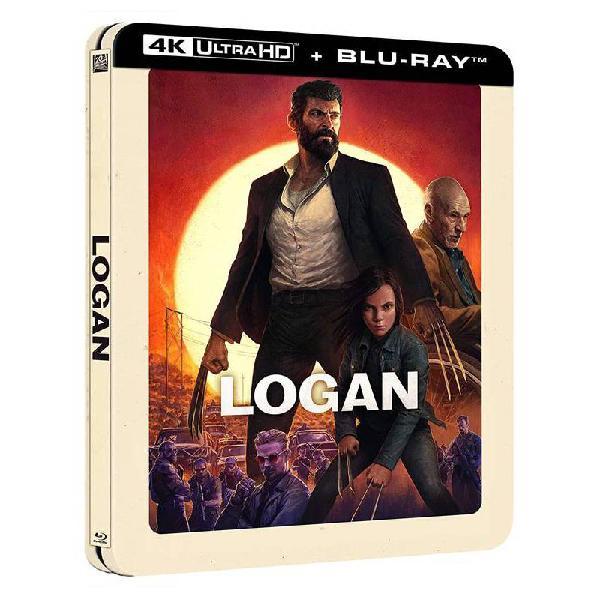 Logan - steelbook lenticular (4k uhd + blu-ray)