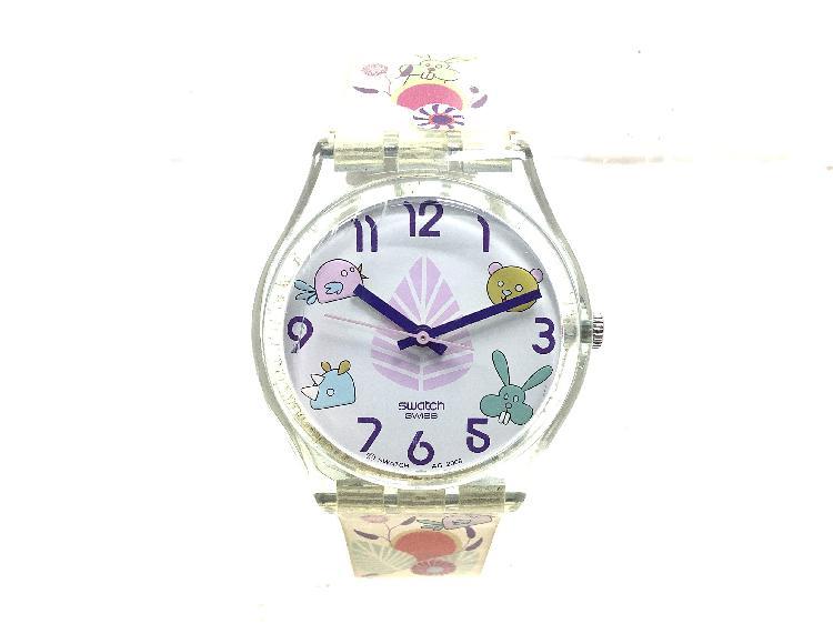 Reloj pulsera unisex swatch infantil con movimiento suizo