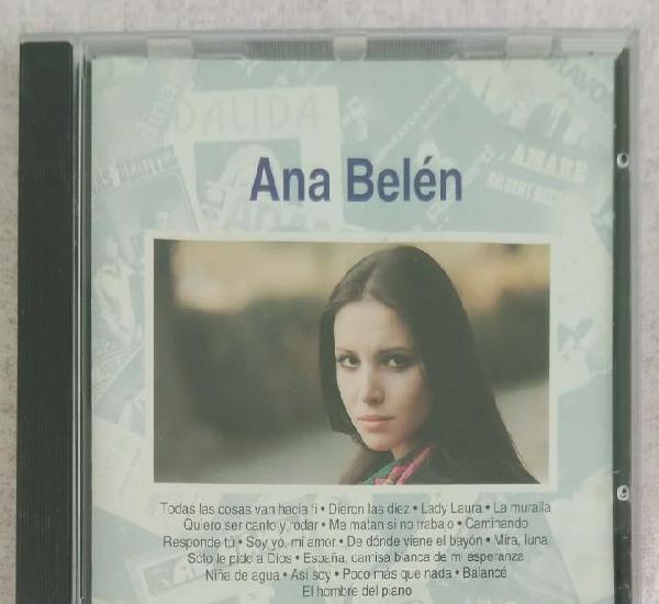 Ana belen - la musica de tu vida - cd 1993 planeta agostini