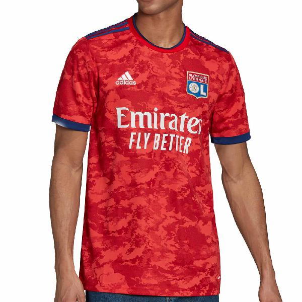 Camiseta adidas 2a olympique lyon 2021 2022