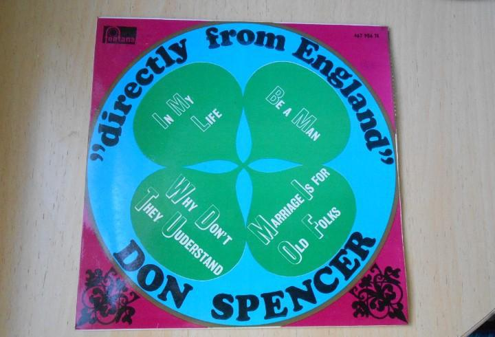 Don spencer - directly from england -, ep, in my life + 3,
