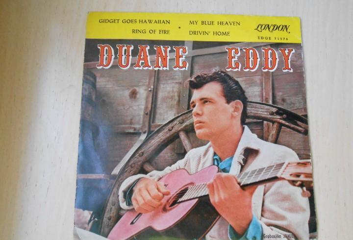 Duane dddy, ep, gidget goes hawaiian + 3, año 1961
