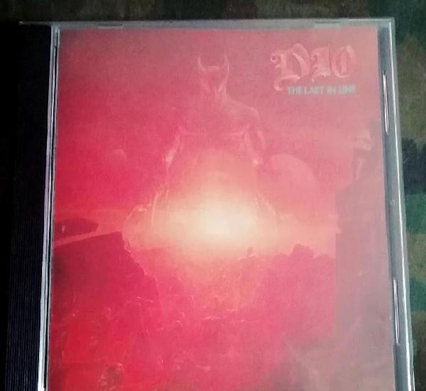 Dio - the last in line cd, album, heavy metal