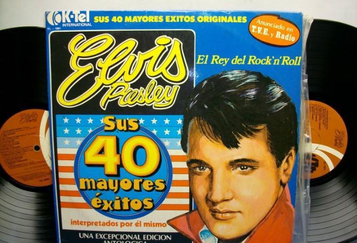 Elvis presley sus 40 mayores exitos lp