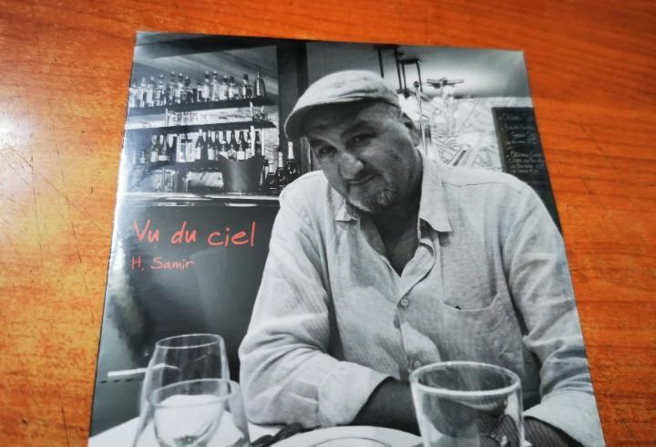 H. samir vu du ciel cd album promo carton precintado del