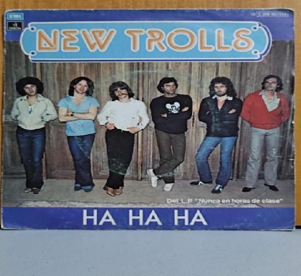 New trolls - ha ha ha / good morning people - single 1979