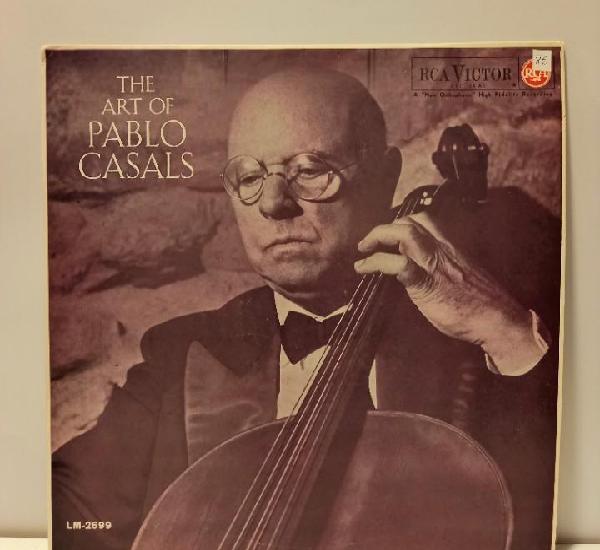 Pablo casals - the art of pablo casals. vinilo (lp, album,