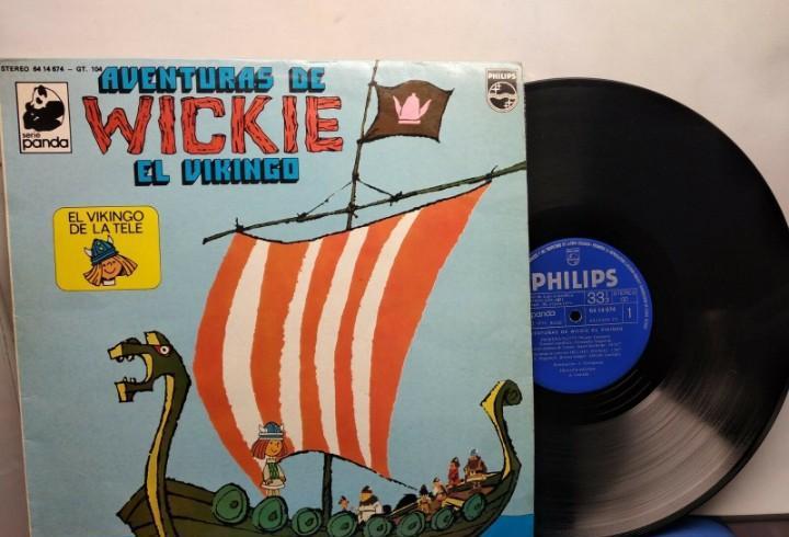 Vickie el vikingo de la serie de dibujos animados disco