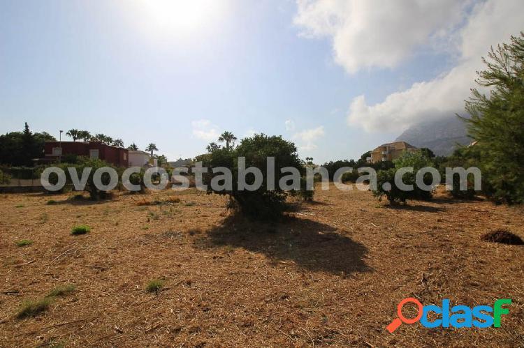 Terreno urbanizable en zona san juan, denia en venta