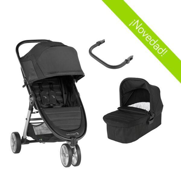 Baby jogger duo city mini 2 -3 ruedas