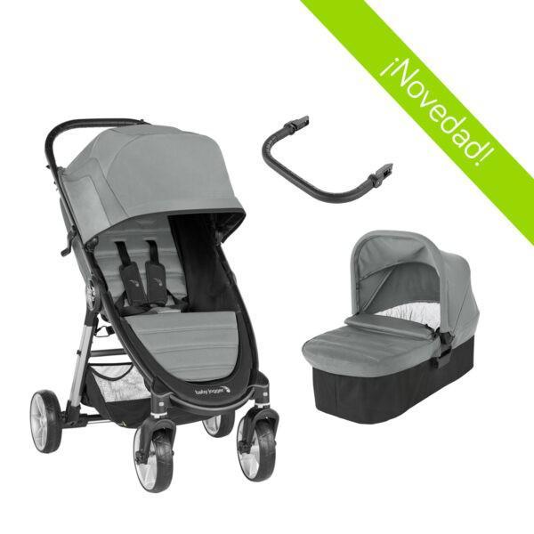 Baby jogger duo city mini 2 - 4 ruedas