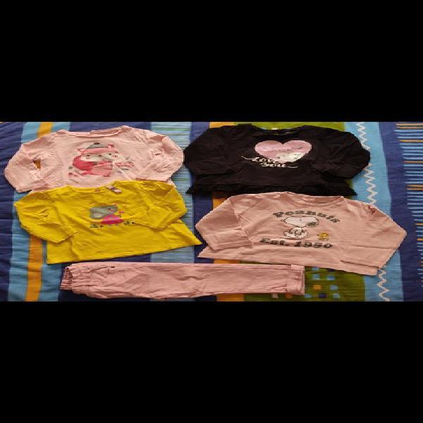 Camisetas niña manga larga talla 18 meses
