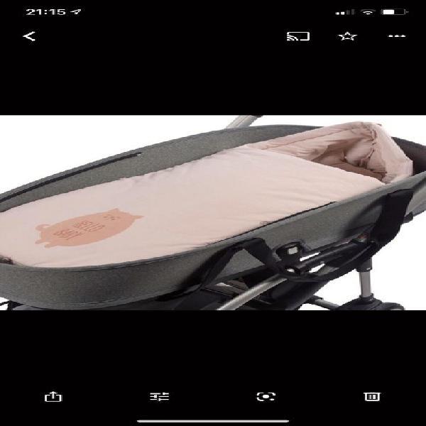 Saco para capazo coche bebé niña