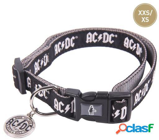 Collar para perros ac/dc s-m for fan pets