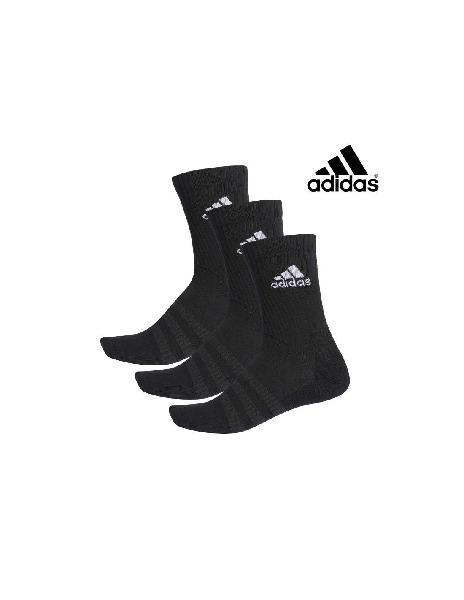 Calcetines adidas cush 3 pares negros |onlytenis