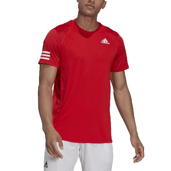 Adidas club 3 stripes camiseta de tenis hombre