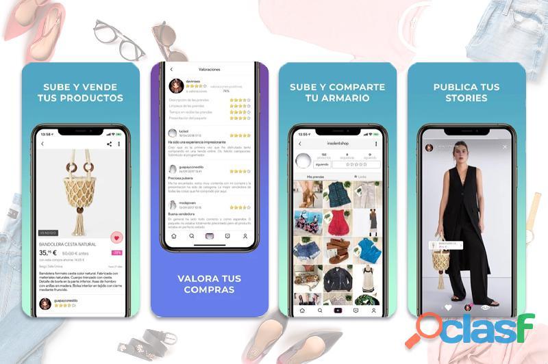 Se traspasa magnífico marketplace de moda