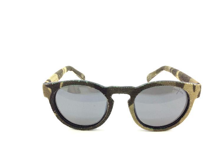 Gafas de sol caballero/unisex parafina tela militar