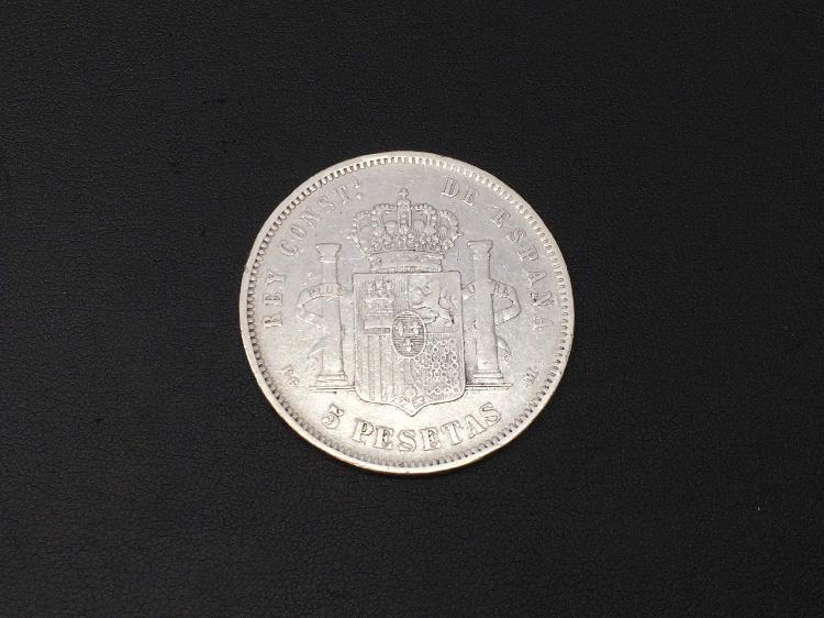 Moneda plata primera ley (plata 925mm)