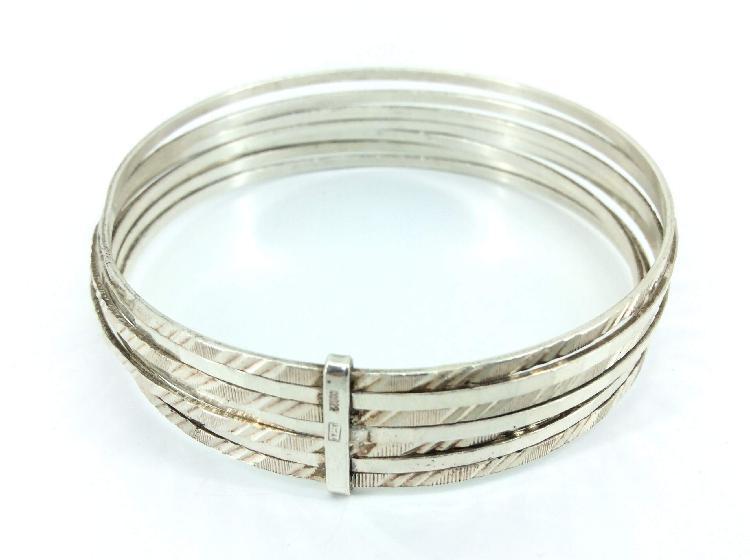 Pulsera plata primera ley (plata 925mm)