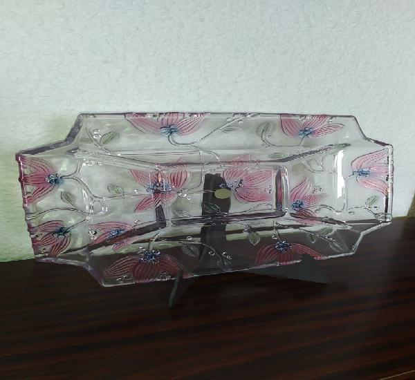 Exclusiva bandeja de cristal japonés sogs