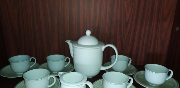 Juego de café antiguo porcelana