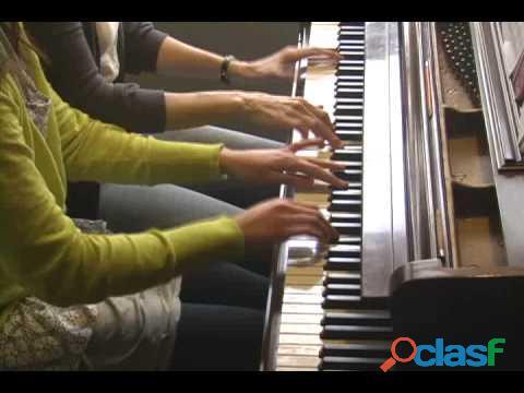 Clases online y presenciales. Clases de piano moderno en bilbao a partir de los 2 años