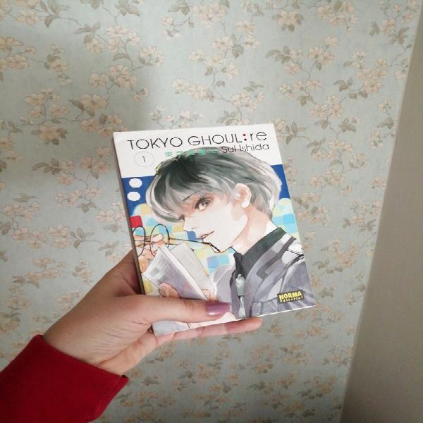 Manga tokyo ghoul re: