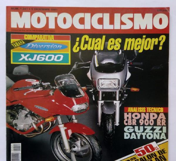 Motociclismo nº 1241 año 1991 yamaha diversion / xj600,