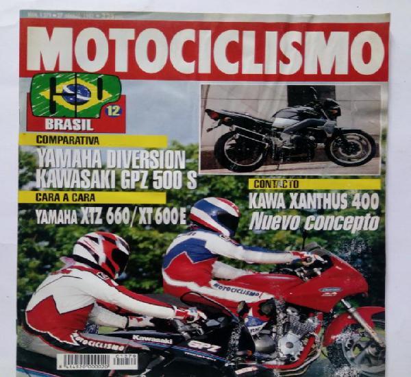Motociclismo nº 1279 año 1992 yamaha diversion / kawasaki