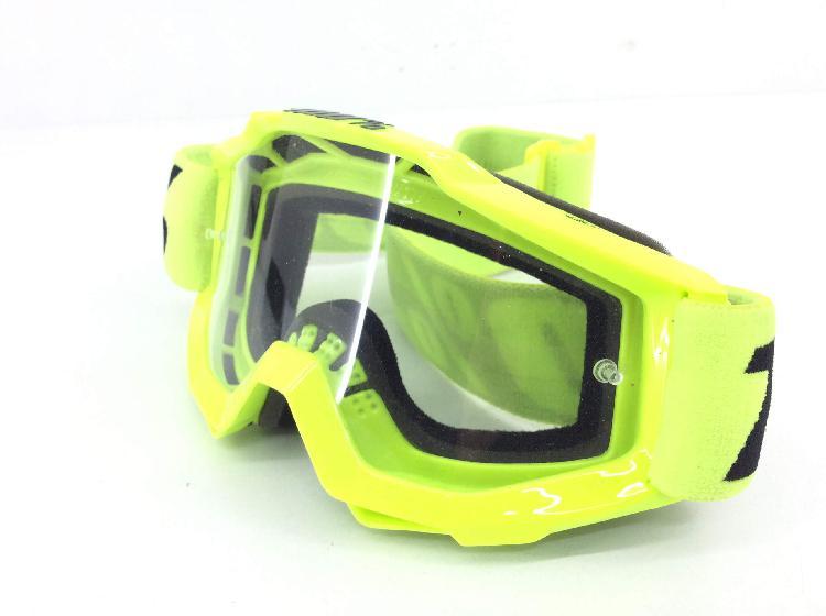Gafas motorista otros color verde sin modelo
