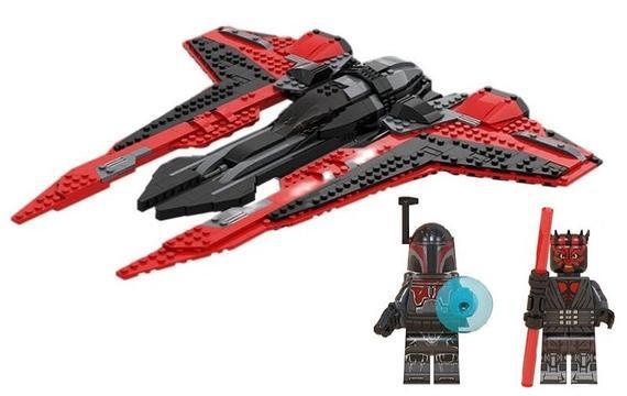 Darth mauls mandalorian starfighter 745pcs clone wars star