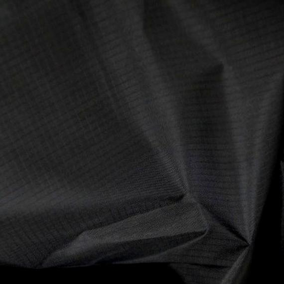 Negro - tela ripstop - colores sólidos lisos - material -