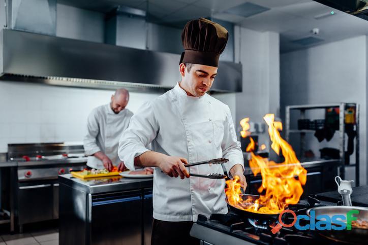 Cocinero, asistente de cocina, lavavajillas para Suiza