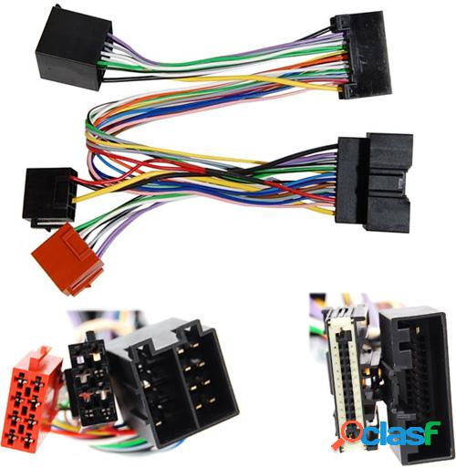 Conector doble iso para ford, land rover 2010 >, parrot