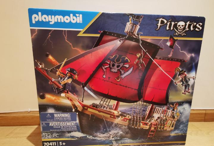 Gran barco pirata playmobil 70411