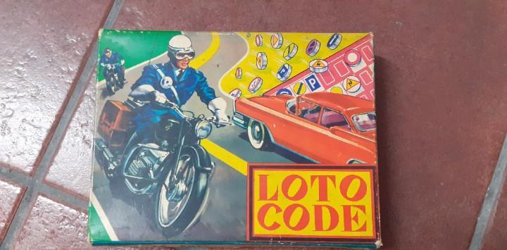 Juego cartas tráfico loto code francés