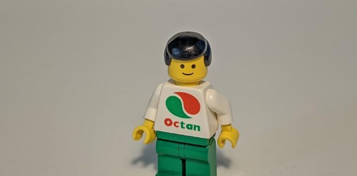 Man octan logo shirt 6539 - lego classic town lego
