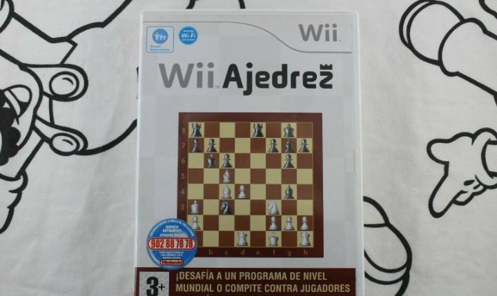 Nintendo wii wii ajedrez muy buen estado pal españa