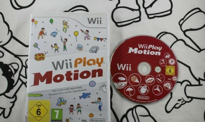 Nintendo wii wii play motion buen estado pal españa