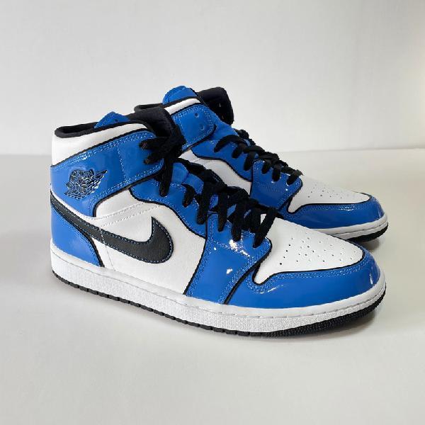 Nike air jordan 1 mid blue